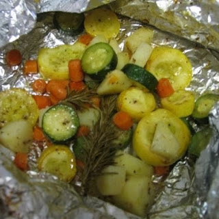 Grilled Vegetable Medley Packet's