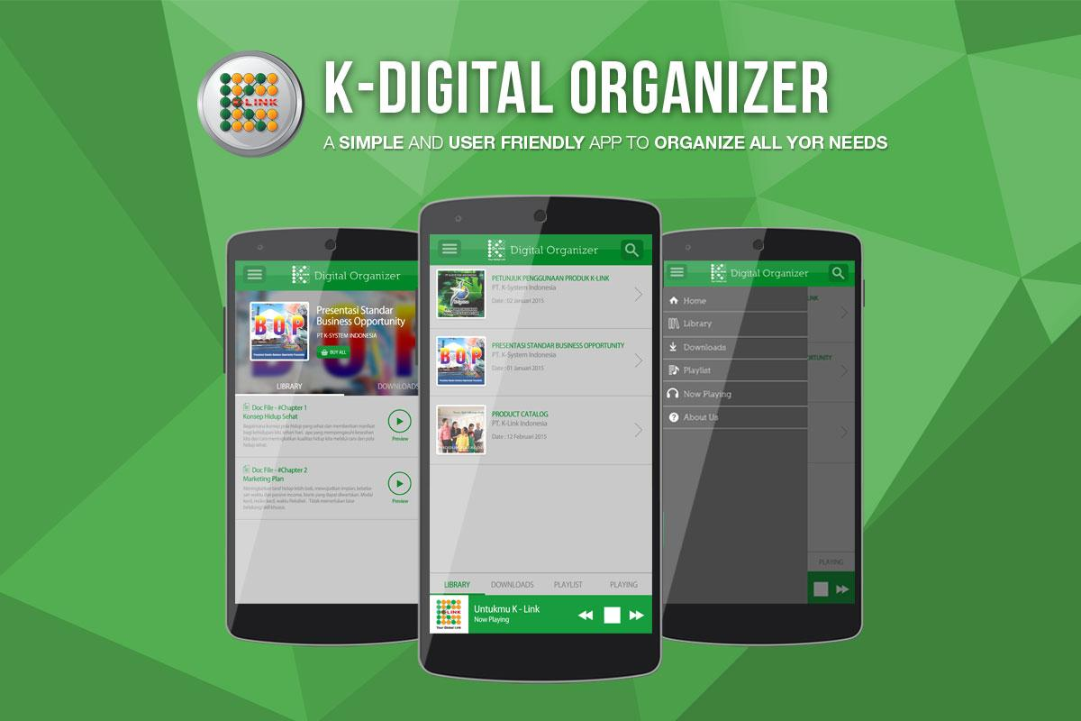 K-Digital Organizer- screenshot
