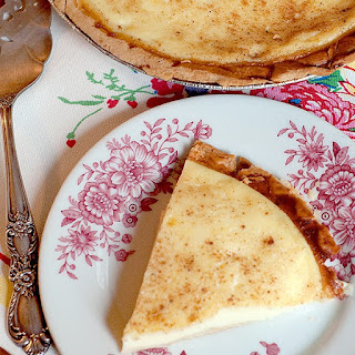 Egg Custard Pie.