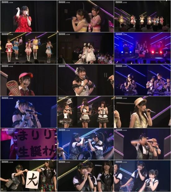 160519 HKT48 チームH「シアターの女神」公演 山田麻莉奈 生誕祭