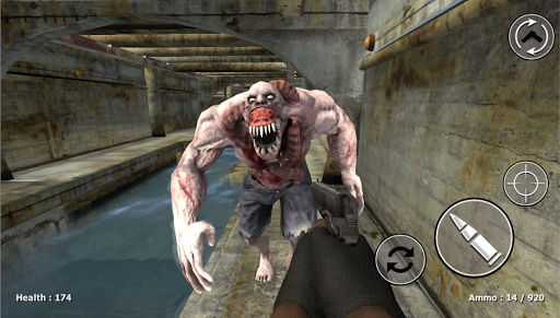 Zombie Evil Kill - Dead Horror FPS apklade screenshots 2