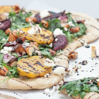 Grilled Beet Salad Flatbread