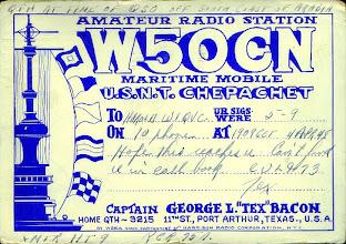 Photo: 1948 Otto Eppers Staff Cartoonist of Harrison Radio Corporation NYC