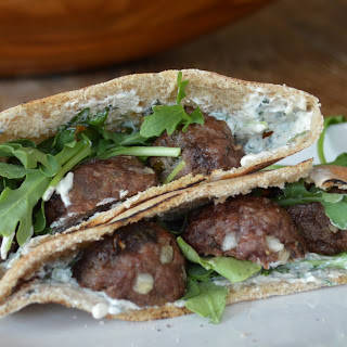 Slow Cooker Greek Lamb Pitas