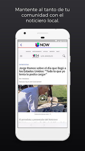 Univision NOW: TV en vivo Screenshot