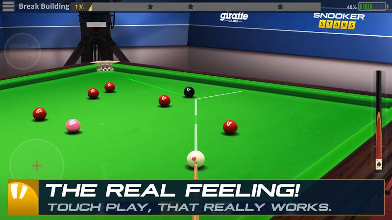 Snooker Stars - 3D Online Sports Game Screenshot 1