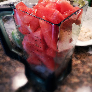 Watermelon Refresher Drink.