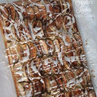 Apple Cake (Apple Kuchen).