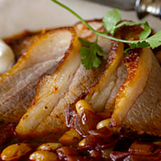 Braised Brisket with Beans and Ancho Chile