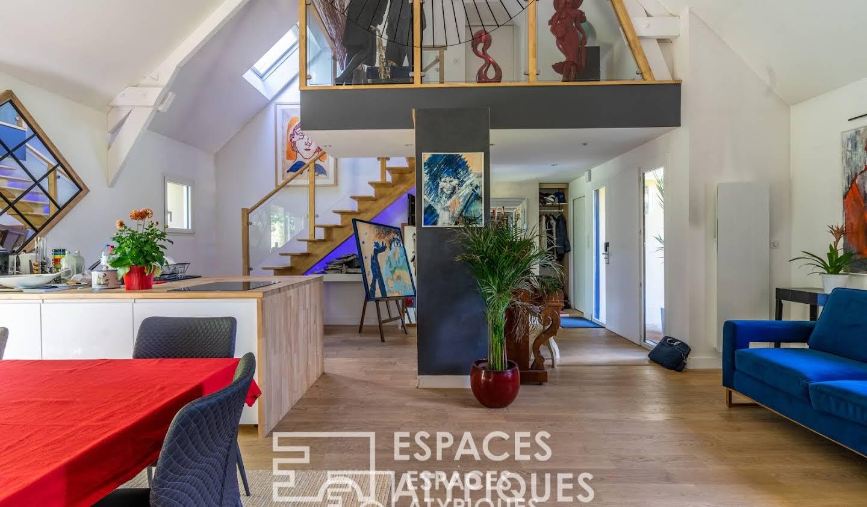Maison avec piscine et terrasse Saint-andre-des-eaux