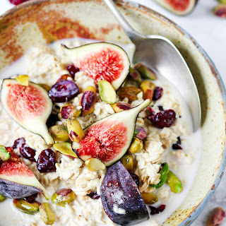 Overnight Oats with Figs and Nuts