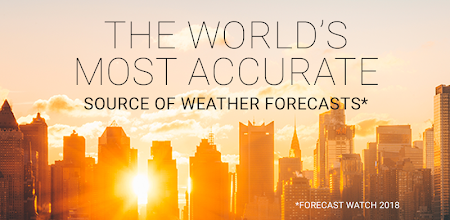 AccuWeather: Weather Tracker & Live Forecast Maps APK poster