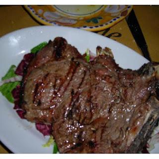 Grilled T - Bone Steaks Florentine
