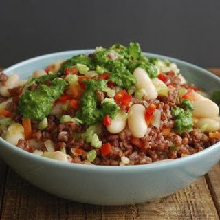 Cannellini Bean and Rice Bowls