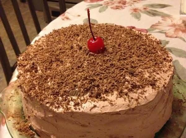 Super Easy Spumoni Cake