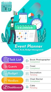 Event Planner – Guests, To-do, Budget Management 1