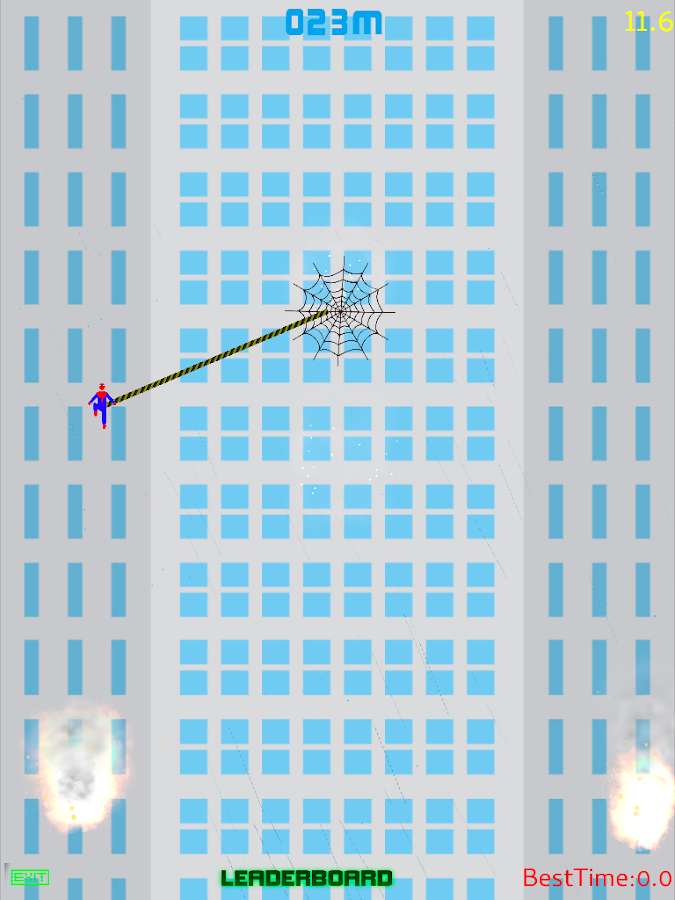 Spider Climber - Rope Swing- screenshot