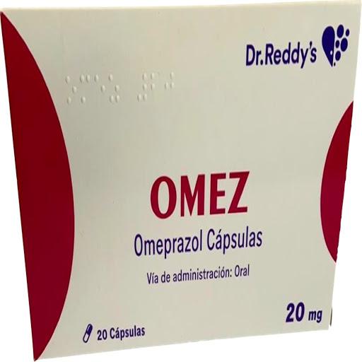 Omeprazol Omex 20 mg x 20 Capsulas Dr Reddy's 20 mg x 20 Capsulas