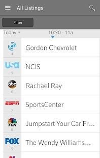 XFINITY TV Remote Screenshot 1