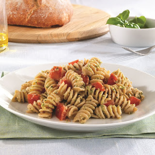 Rotini with Fresh Tomatoes, Aromatic Herb Pesto & Ricotta Salata