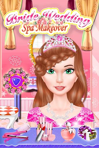 花嫁の結婚式の女の子のゲーム