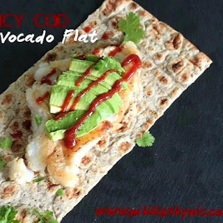 Spicy Cod Avocado Flat