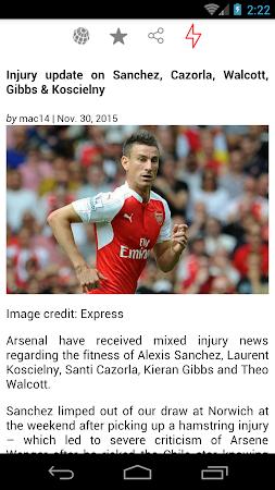 Latest Arsenal News &Transfers 5.6 screenshot 735878
