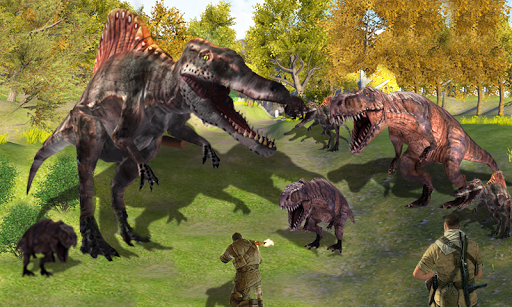 T-Rex Disaster: City Attack