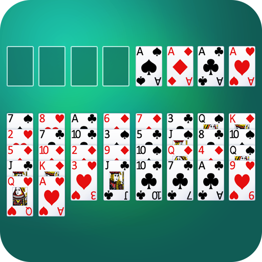 Freecell Solitaire : Card Games