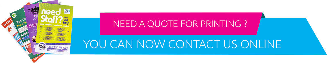 request quote from  G H Cityprint