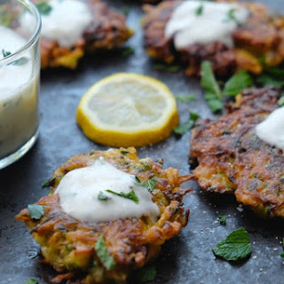 Zucchini Herb Fritters.