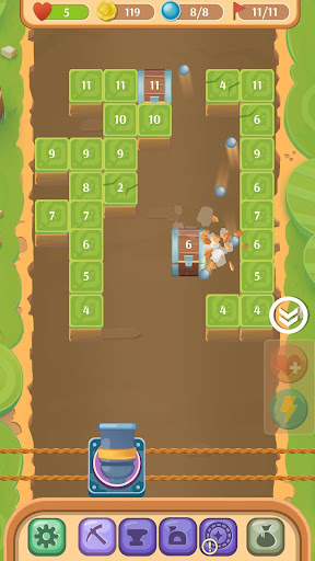 Break Block And Brick: Mining Ball 32 screenshots 2