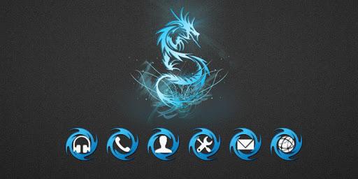 玩免費個人化APP|下載ドラゴンのテーマ app不用錢|硬是要APP