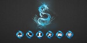 3 Dragon Theme App screenshot