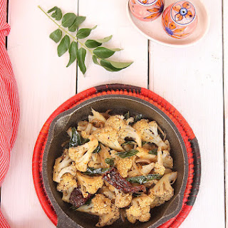 Fried Cauliflower Vegan Recipes