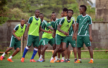 Photo: [Training Camp ahead of Leone Stars v Swaziland Game on 31 May 2014 (Pic: Darren McKinstry)]