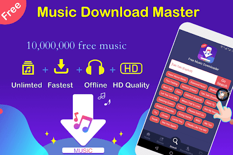 Free Music Downloader + Mp3 Music Download Song 1