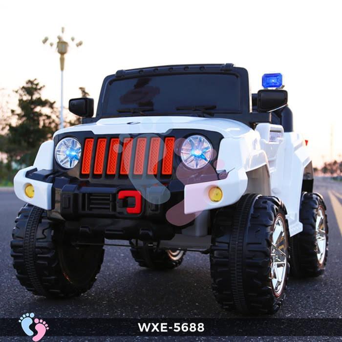 Ô tô điện cho bé WXE-5688 2 động cơ 3
