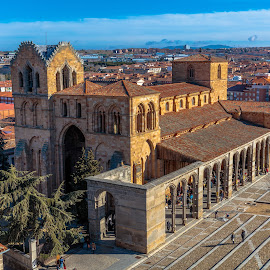 basilica de San Vicente, Avila by -. Phœnix .- - Buildings & Architecture Places of Worship ( san vicente, avila, basilica )
