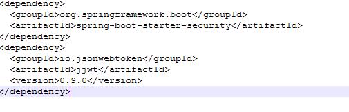 """""""pom.xml"""" file code"""