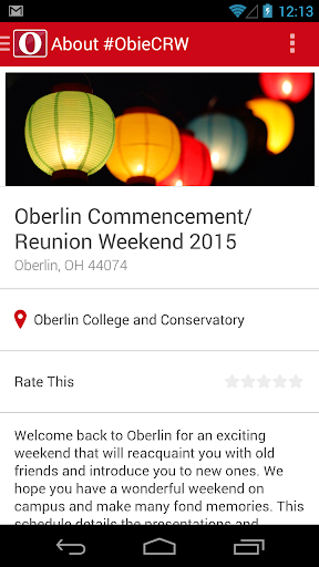 Oberlin Commencement Reunion