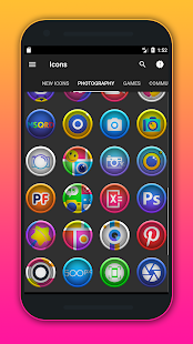 Morine - Icon Pack Screenshot