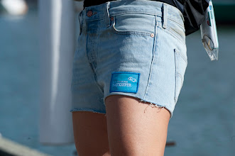 Photo: cut-off shorts by Levi's