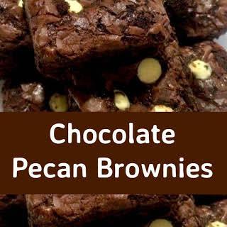 Chocolate Pecan Brownies.