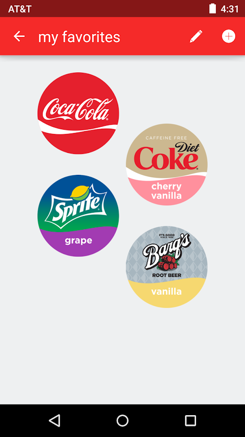 Coca-Cola Freestyle- screenshot