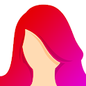 Hair Color Changer: Change your hair color booth icon