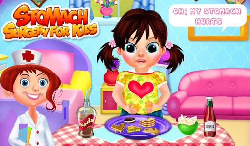 胃手术为孩子
