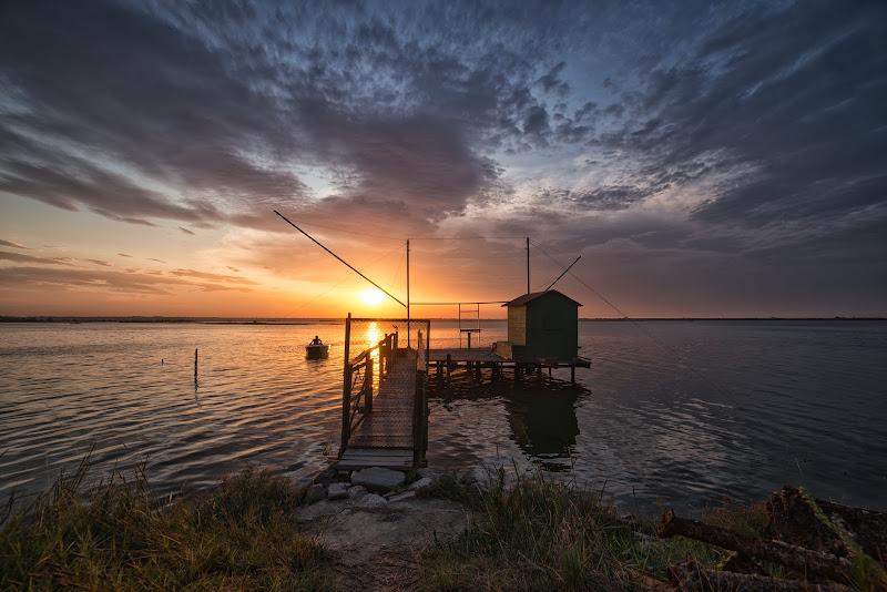 Un tramonto è un'alba dall'altra parte del mondo. di Schivio