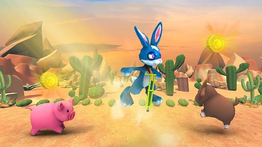 Jumping Bunny Survival Escape: Bunny Rabbit Games 1.0 screenshots 1