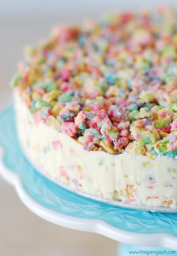 Cover the springform pan and place the ice cream cake in the freezer for...